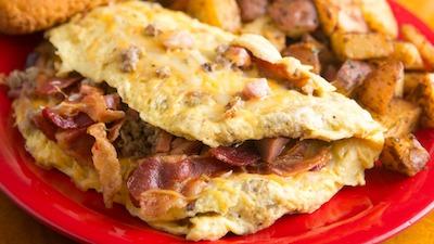 Meatlover's Omelet