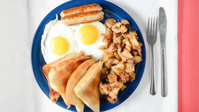 Sausage & Eggs Endless
